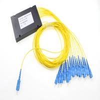 Wholesale Sc Upc Fiber Optic Plc Splitter 1x16 , Passive Optical Single Mode Fiber Splitter from china suppliers