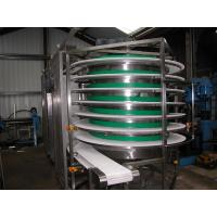 Buy cheap Spiral belt conveyors screw chain conveyors modular belts spiral conveyor from wholesalers