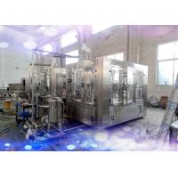 Wholesale CE / SGS Rotary 3 in 1 Juice Production Line 6000 Bottles Per Hour from china suppliers