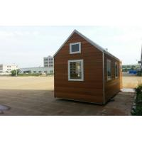 Wholesale Mini Hotel Prefabricated Garden Studio , Prefab Hotel from china suppliers