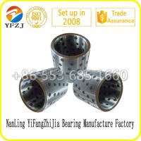 Quality Wear-resistant  Casting steel parts Solid steel sleeve Steel bushing with graphite for sale