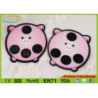 Wholesale Custom Made Pink Heat Sensitive Fever Stickers Eco Friendly Non - toxic from china suppliers