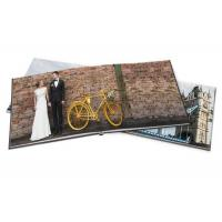 Wholesale Leather Hardcover Photographic Book Printing Square Wedding Print Photo Book from china suppliers
