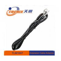 Wholesale Braided auto antenna extension cable male to female connector from china suppliers