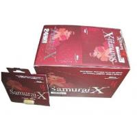 Wholesale Herbal Male Enhancement Samurai X Sex Pill Penis Enlargement Increase Sexual Stamina from china suppliers