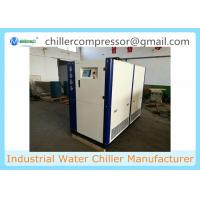Wholesale 2 TR ~25 Salt Water Cooling Food Industry TR Scroll Water Cooled Chiller from china suppliers