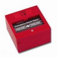 Wholesale Break Glass Fire Emergency Exit Release with NO/NC Feature, Measures 86 x 86mm from china suppliers