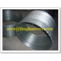 China High Security Steel Razor Barbed Wire Tape on sale