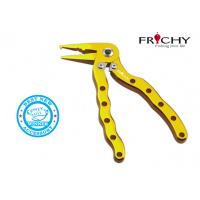 Wholesale Bird-type Aluminum Fishing Pliers / Saltwater Fishing Tools With Spring Loaded Handles from china suppliers