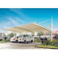 Quality Wind Resistant Car Canopy Tents Bus Stop Canopy Membrane Structure for sale
