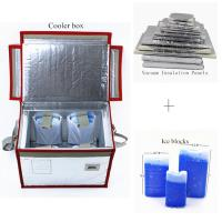 Wholesale Medicine Vaccine Blood Vacuum Insulated Panel Glass Fiber Material from china suppliers