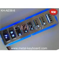 Wholesale 8 Keys Vandal Resistant Backlit Rugged Keypad In Customization Design from china suppliers
