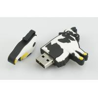 Wholesale Dairy Cow Shape High Speed USB Stick, Customized USB Flash Drive Memory 4GB from china suppliers