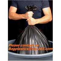 Wholesale Drawstring Trash Bags, black bag, green bags, yellow bags, red bags, heavy duty, Star Seal from china suppliers