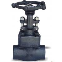 Wholesale 1/2-3 Inch Forged Steel Gate Valve good Sealing with different ends from china suppliers