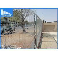 Wholesale ClearVu Anti Climb Security Fence For Railway / Airport , Security Fence Panels from china suppliers