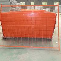 Wholesale canada temporary fence/ PVC coated temporary fence panel from china suppliers