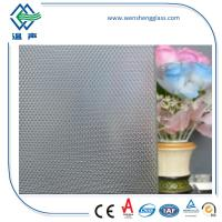 Wholesale Decoration Flat Patterned Glass for doors and toilet With CE and CCC Certificate from china suppliers