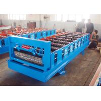 Wholesale Automatic Corrugated Roofing Sheet Roll Forming Machine 9-12m/min Drive By Chain from china suppliers