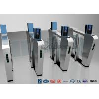 Wholesale Waist Height Turnstile Security Systems , Face Recognition Speed Fastlane Turnstile from china suppliers