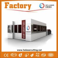 Quality IPG Carbon Steel / stainless steel sheet cutting machine with 45m/min Speed for sale