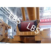 Wholesale Electric / Hydraulic Crawler Crane Winch Crane Windlass Groove Drum from china suppliers