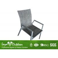 Wholesale French Style Outside Patio Chairs Garden Dining Furniture With Sling Fabric from china suppliers