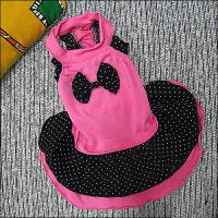 Wholesale 100% Cotton Yorkie, Maltese Little Lovely Custom Dog Dresses / Skirts from china suppliers