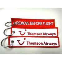Wholesale Thomson Airways Remove Before Flight keychains from china suppliers