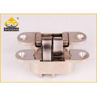 Wholesale Metal Zinc Alloy 180 Degree Adjustable Hidden Hinges For Wooden Doors from china suppliers