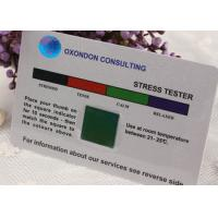 Wholesale Offset Printed PVC Stress Test Card / Mood Testing Cards for Promotion Gift from china suppliers