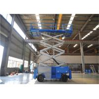Wholesale High Stability Diesel Rough Terrain Scissor Lift Generous Platform Workplace from china suppliers