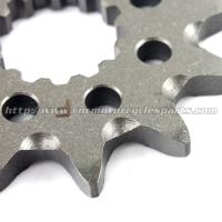 Wholesale High Precision Dirt Bike Sprockets / Stainless Steel Sprockets With Heat Treatment Process from china suppliers