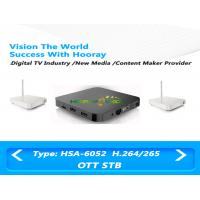 Wholesale HDMI Wifi IPTV Set Top Box Plastic / Steel Material With S / PDIF Output from china suppliers