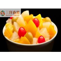 Wholesale 850ml 5 fruits Mixed Canned Fruit cocktail Healthy Canned Fruit in light syrup from china suppliers