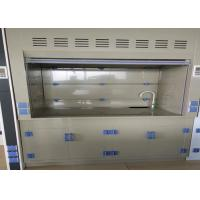 Wholesale Polypropylene Fume Hood Ventilation Cupboard Vertical Raising Sash PP Worktop from china suppliers