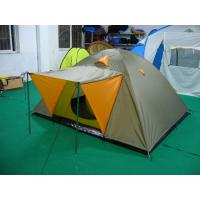 Buy cheap 3-person double-layer waterproof camping hiking tent dome tent igloo tent from wholesalers