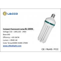 Wholesale 8U 200W Energy Efficient Fluorescent Light Bulb E40 PBT Plastic Material from china suppliers