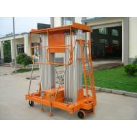 Buy cheap Aluminum alloy mobile hydraulic lift platform / Equipment 100kg 150kg for hotel , airport from wholesalers