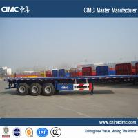 Wholesale heavy duty large 20ft 40ft container trailer price flat bed trailer for sale from china suppliers