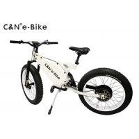 Wholesale High Speed Electric Fat Tire Mountain Bike , Electric Bicycle With Big Fat Tires from china suppliers
