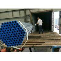 Wholesale Hot Dipped Galvanised Iron ERW Steel Pipe , Galvanized Steel Tubes for building from china suppliers
