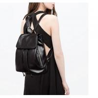Wholesale Black Yellow Waterproof Shool Bags Cowhide Fashionable Backpacks With Genuine Leather from china suppliers