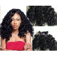 Wholesale 100g Full Cuticle Body Wave Curly Human Hair Extensions No Damage from china suppliers