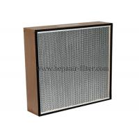 Quality Replacement Electric Hepa Air Filters With Wooden Frame , Portable for sale