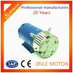 N3024 OD 127mm Hydraulic DC Motor Brush IE4 Efficiency Low Noise