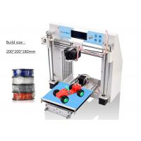 Wholesale High Precision Reprap Prusa DIY Metal 3D Printer Kit With LCD Screen from china suppliers