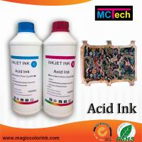 Wholesale China quality textile acid dye ink for Epson/Roland/Mimaki/Mutoh Printers from china suppliers