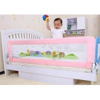 Wholesale Pink Double Convertible Bed Rail for Kids / Woven Mesh Baby Bed Rails from china suppliers
