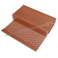 Buy cheap 90 acoustic board wpc wood pvc board have the characteristics of suction syllable,  energy saving up to 30% .SENKE sound-absorbing board is mainly used for surface mount,  good sound-absorbing effect can be applied to opera,  theaters and multimedia audition from wholesalers
